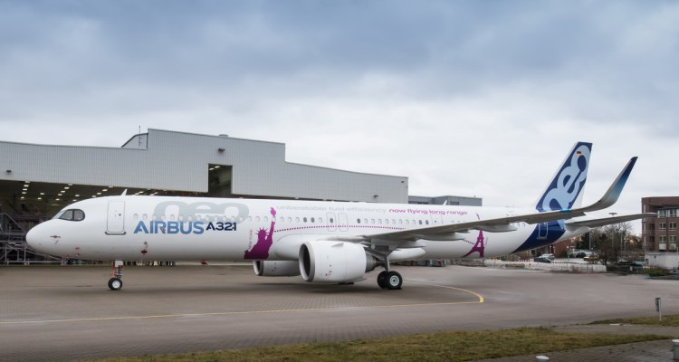 Airbus A321neo ACF Roll Out
