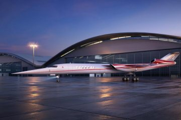 Aerion Lockheed Martin primo businessjet supersonico