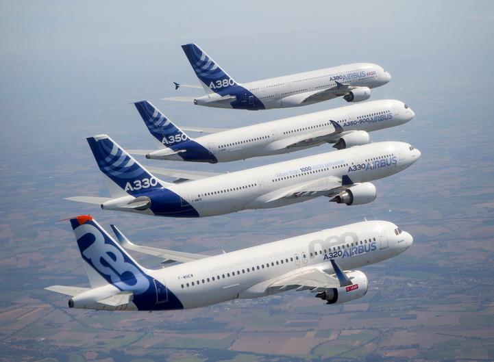 Airbus da record, consegnati 718 aeromobili nel 2017