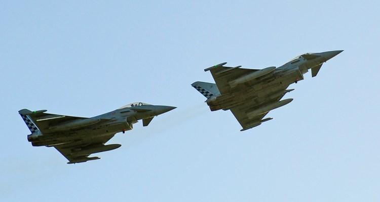 Eurofighter Typhoon 18° Gruppo Aeronautica Militare