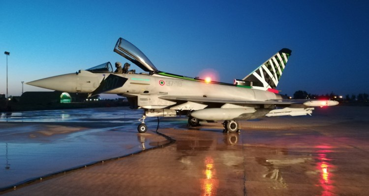 Eurofighter Typhoon special color 18° Gruppo Aeronautica Militare