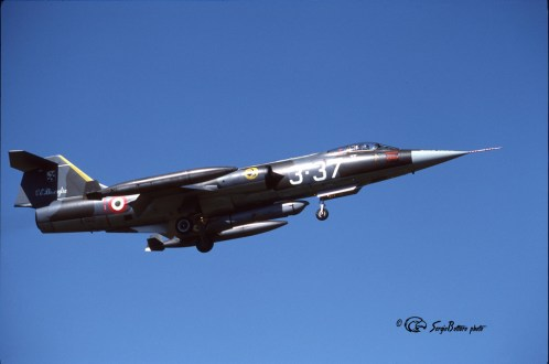 2F F-104G 6547 (3-37) 28°Gr. Villafranca 27.08.1985