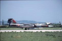 2H F-104G 6578 (3-06) 132°Gr. Villafranca 21.08.1986