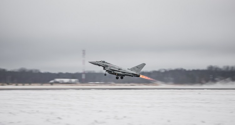 Eurofighter italiani in estonia