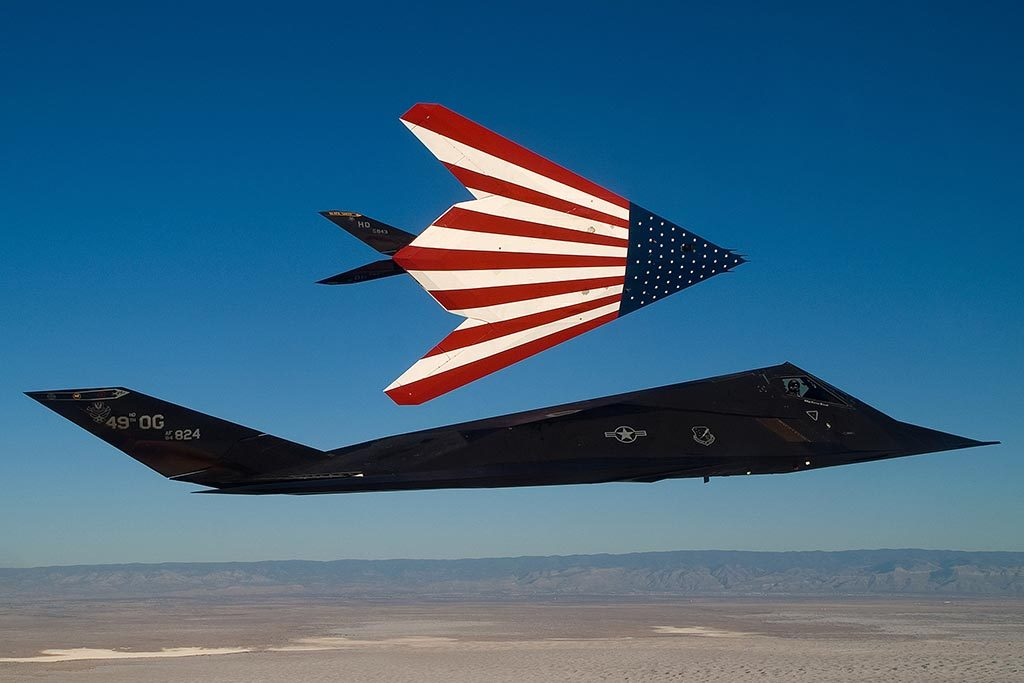 F-117 Nighthawk stealth fighter