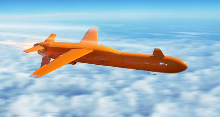 drone aero bersaglio mirach 40