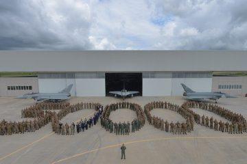 50000 ore di volo eurofighter 4 stormo