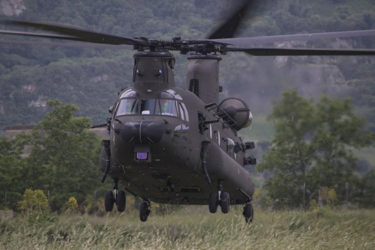 CH-47F Chinook Aviazione dell'Esercito