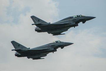 Eurofighter dell'Aeronautica Militare 20° Gruppo Volo
