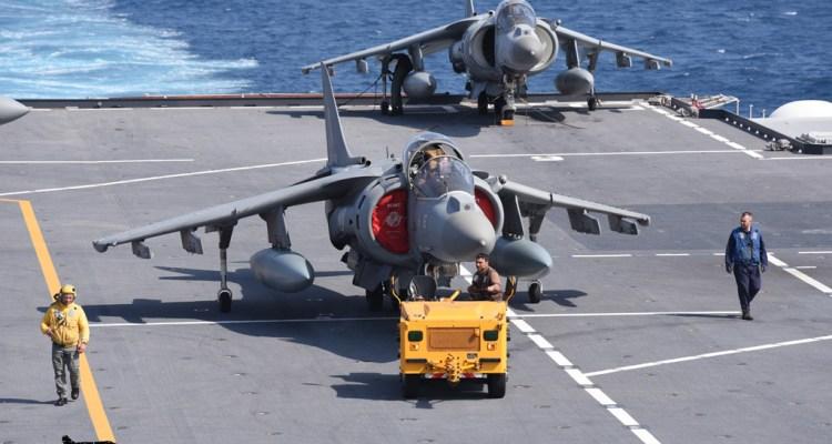 Esercitazione Mare Aperto - AV-8B Harrier II+