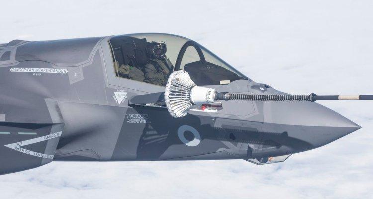 UK F-35B in arrivo in Inghilterra