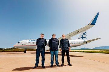Chef stellati Aegean Airlines