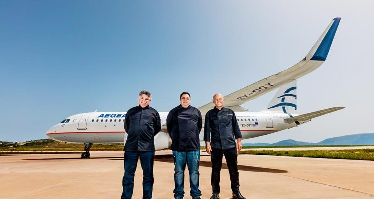 Chef stellati Aegean Airlines