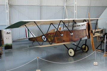 SVA 5 volo su Vienna Museo Storico Aeronautica Militare