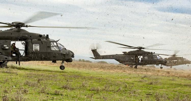 esercitazione caex II 2018 elicotteri aviazione dell'esercito