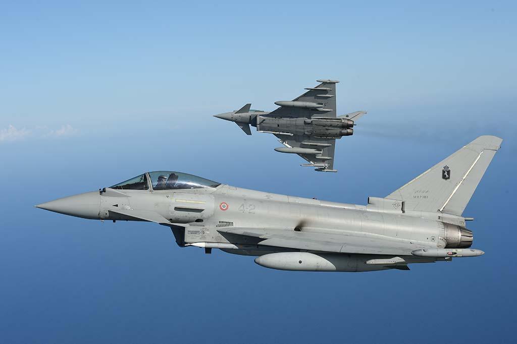 eurofighter typhoon aeronautica militare italiana