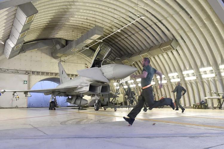 scramble eurofighter typhoon aeronautica militare italiana