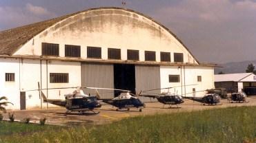 7° NEC Un esemplare per tipo degli elicotteri in dotazione all'Arma sul piazzale