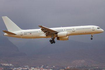 USAF Boeing C-32B 486th Flight Test Squadron