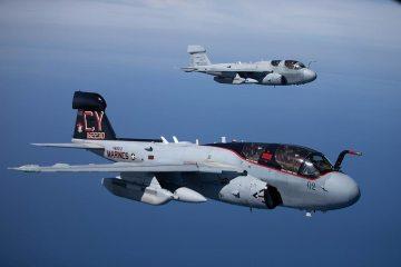 EA-6B Prowler dei Marines americani