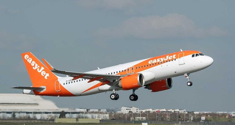 FANS-C Airbus A320 EasyJet