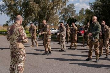 Sigonella esercitazione di force protection internazionale