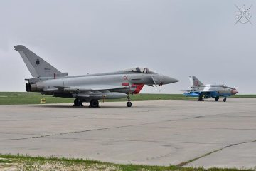 Eurofighter italiani in Romania per la NATO Air Policing