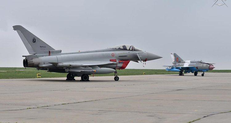 Eurofighter italiani in Romania per la NATO Air Policing