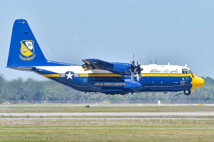 C-130 Hercules Fat Albert Blue Angels