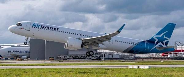 Airbus A321LR AirTransat