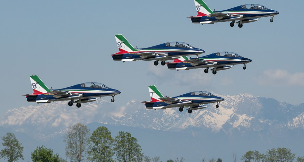Calendario Frecce Tricolori 2020.Frecce Tricolori Inizia La Stagione 2019 Aviation Report