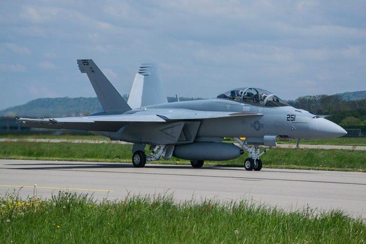 US Navy F-18 Super Hornet Block II