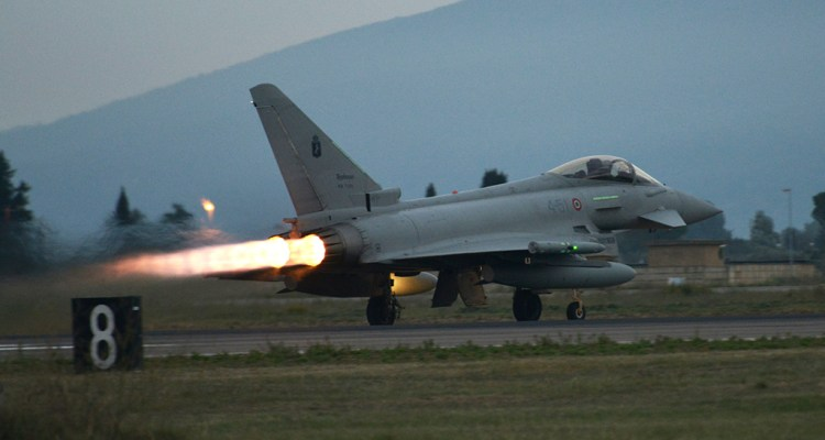 Scramble Eurofighter italiani
