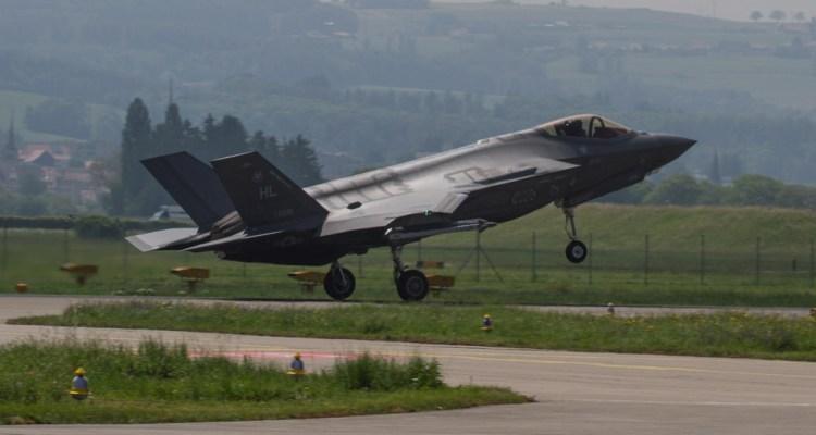 USAF F-35A Payerne Air 2030