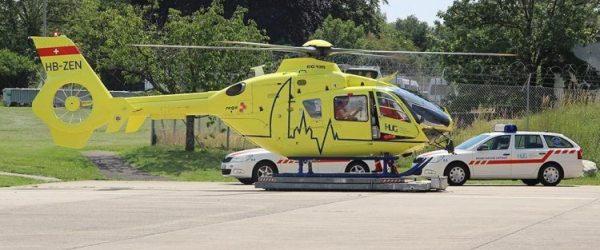 REGA EC135 T2+ soccorso svizzero