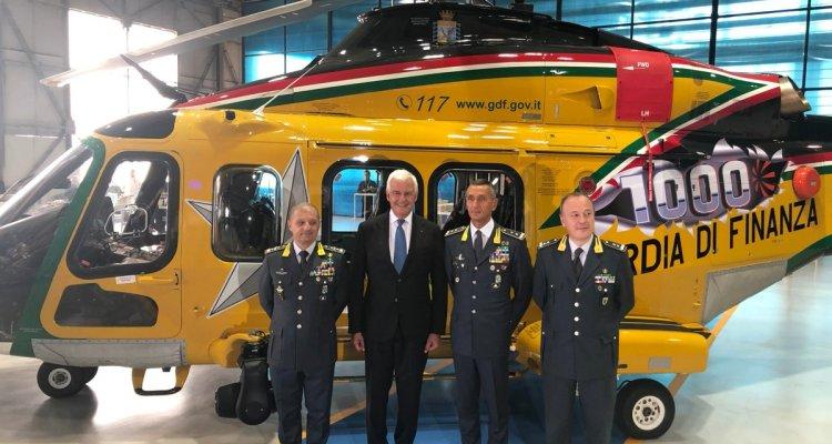 1000° AW139 Leonardo Guardia di Finanza