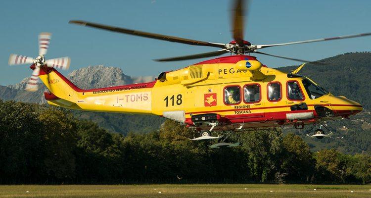 AW-139 Pegaso elicottero elisoccorso Toscana - Babcock Italia