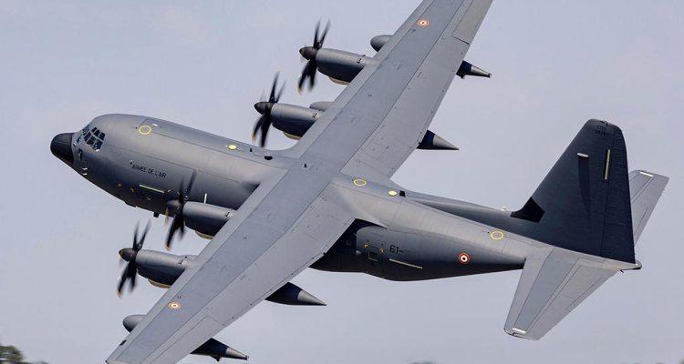 KC-130J Super Hercules Aerial Refueler