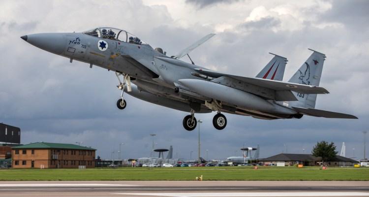 Esercitazione Cobra Warrior F15 Eagle Israeli Air Force