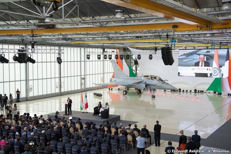 Primo Rafale per la Indian Air Force