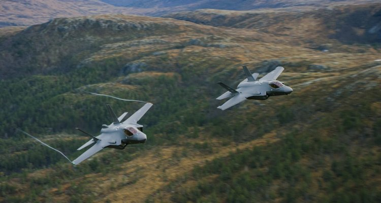 F-35A norvegesi della Royal Norwegian Air Force