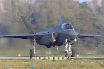 RNLAF F-35A F-009