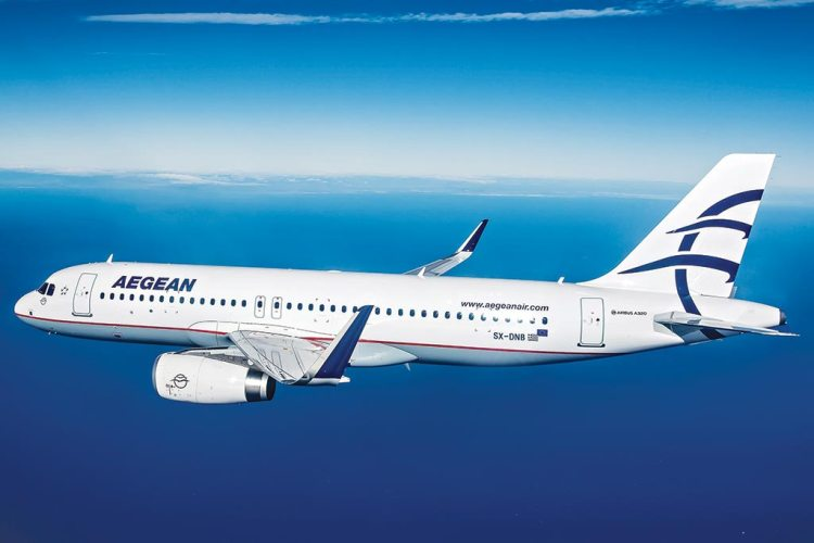 Airbus A320ceo aegean airlines