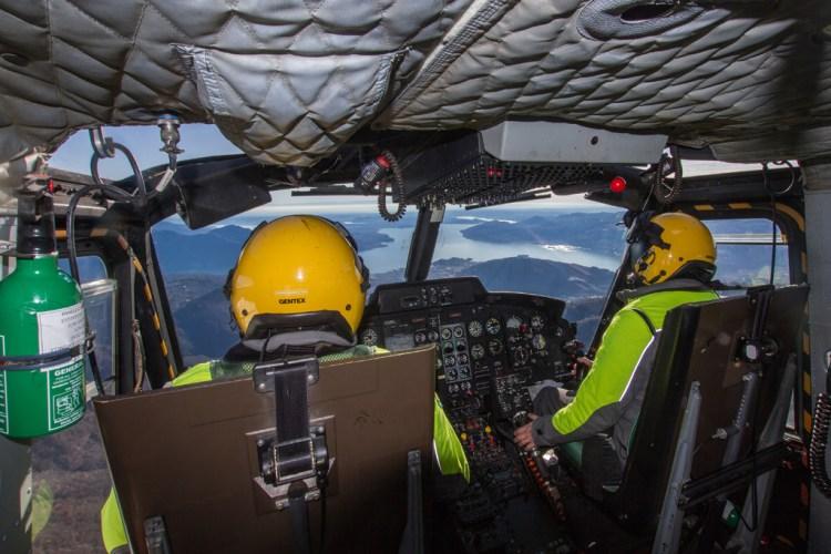 HH-412 Sezione Aerea GdF di Venegono Varese