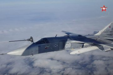 rifornimento in volo caccia russi