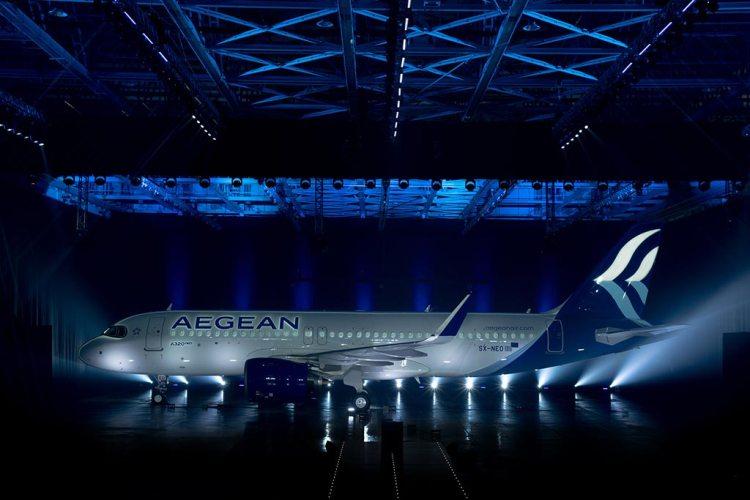 Airbus Α320neo Aegean Airlines (1)