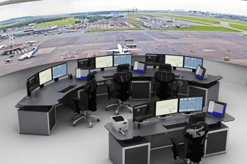 Indra torre di controllo digitale remota