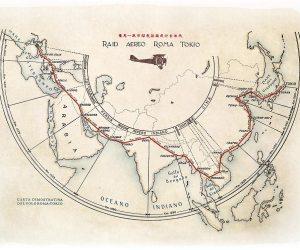 Raid Roma-Tokyo mappa