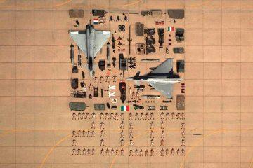 2000 ore di volo per i typhoon italiani in kuwait