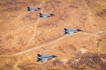 esercitazione Enduring Lightning F-35 israeliani e americani